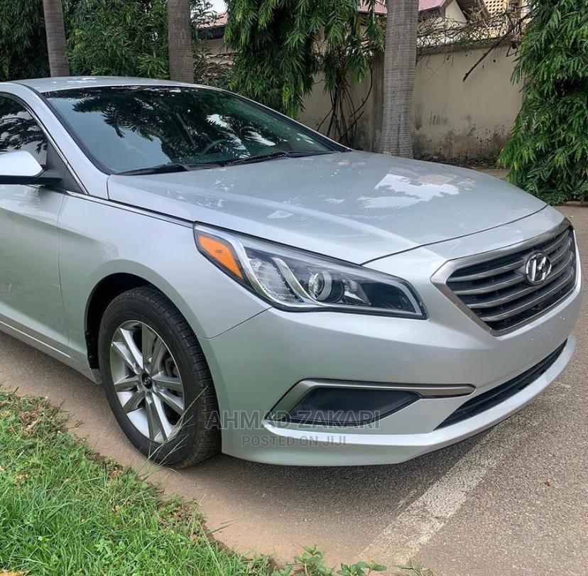 Archive: Hyundai Sonata 2017 Silver