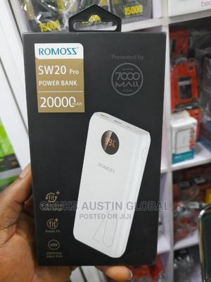Romoss Power Bank 20000mah SW20 Pro | Accessories for Mobile Phones & Tablets for sale in Lagos State, Ikeja