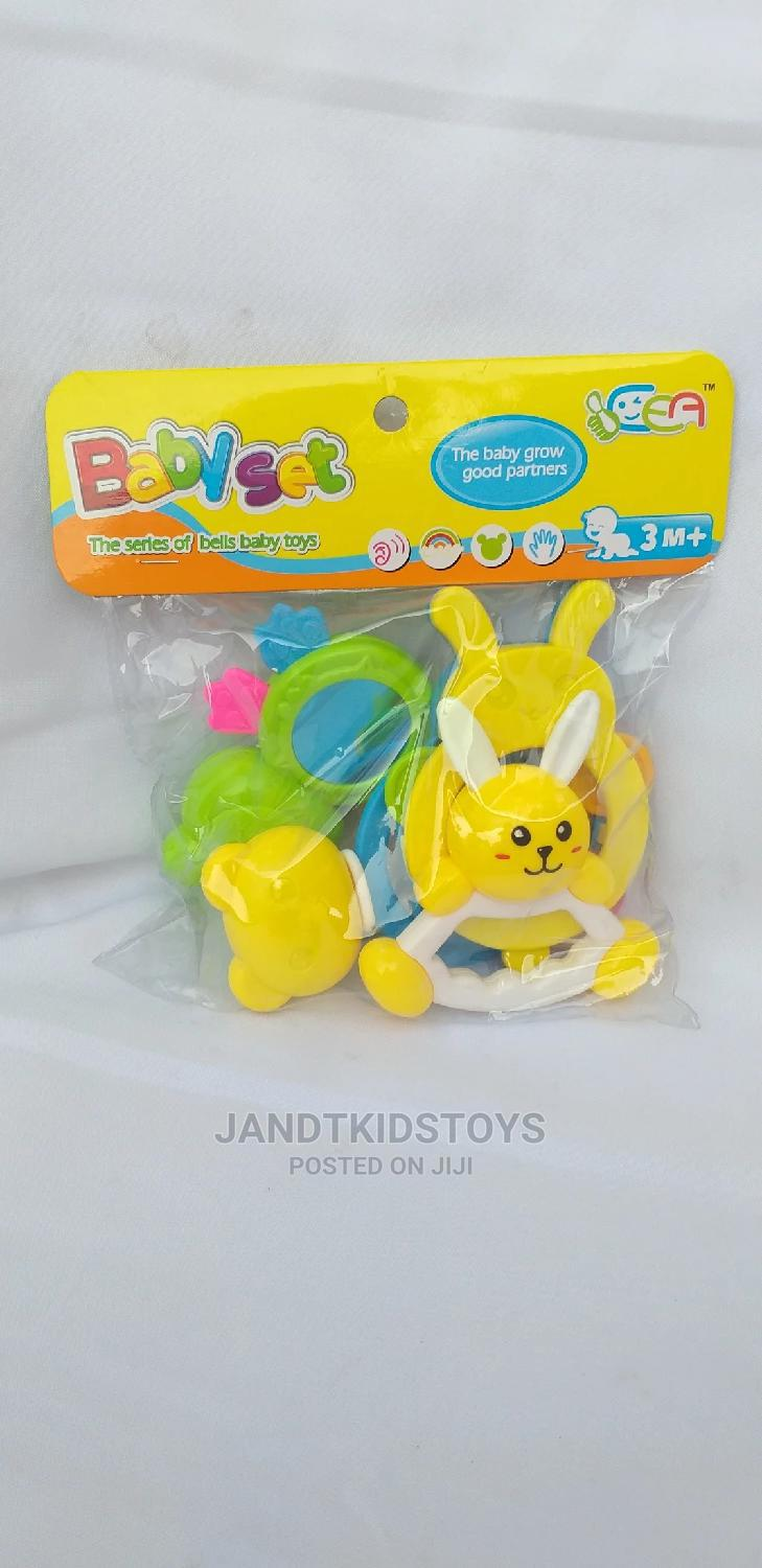 4 Piece Baby Rattle | Toys for sale in Gwarinpa, Abuja (FCT) State, Nigeria