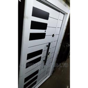 White Security Entrance Door   Doors for sale in Lagos State, Orile