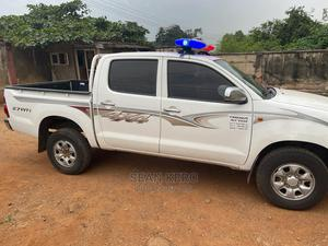Toyota Hilux 2014 SR 4x4 White | Cars for sale in Oyo State, Oluyole