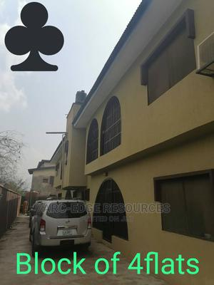 Solid Clean Block of 4flats of 3bed Each in a Secured Area | Houses & Apartments For Sale for sale in Isolo, Ago Palace