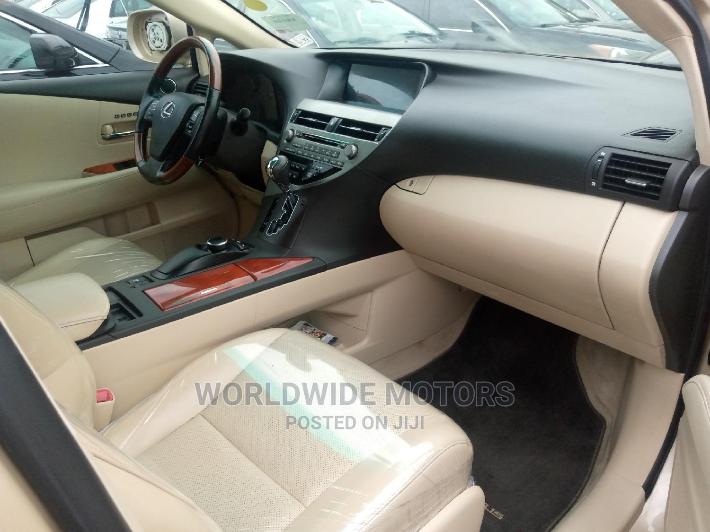 Lexus RX 2010 350 Gold   Cars for sale in Apapa, Lagos State, Nigeria