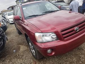 Toyota Highlander 2005 Limited V6 Red   Cars for sale in Lagos State, Ipaja