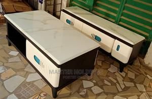 Classic Marble Top TV Stands With Centretable   Furniture for sale in Lagos State, Ajah