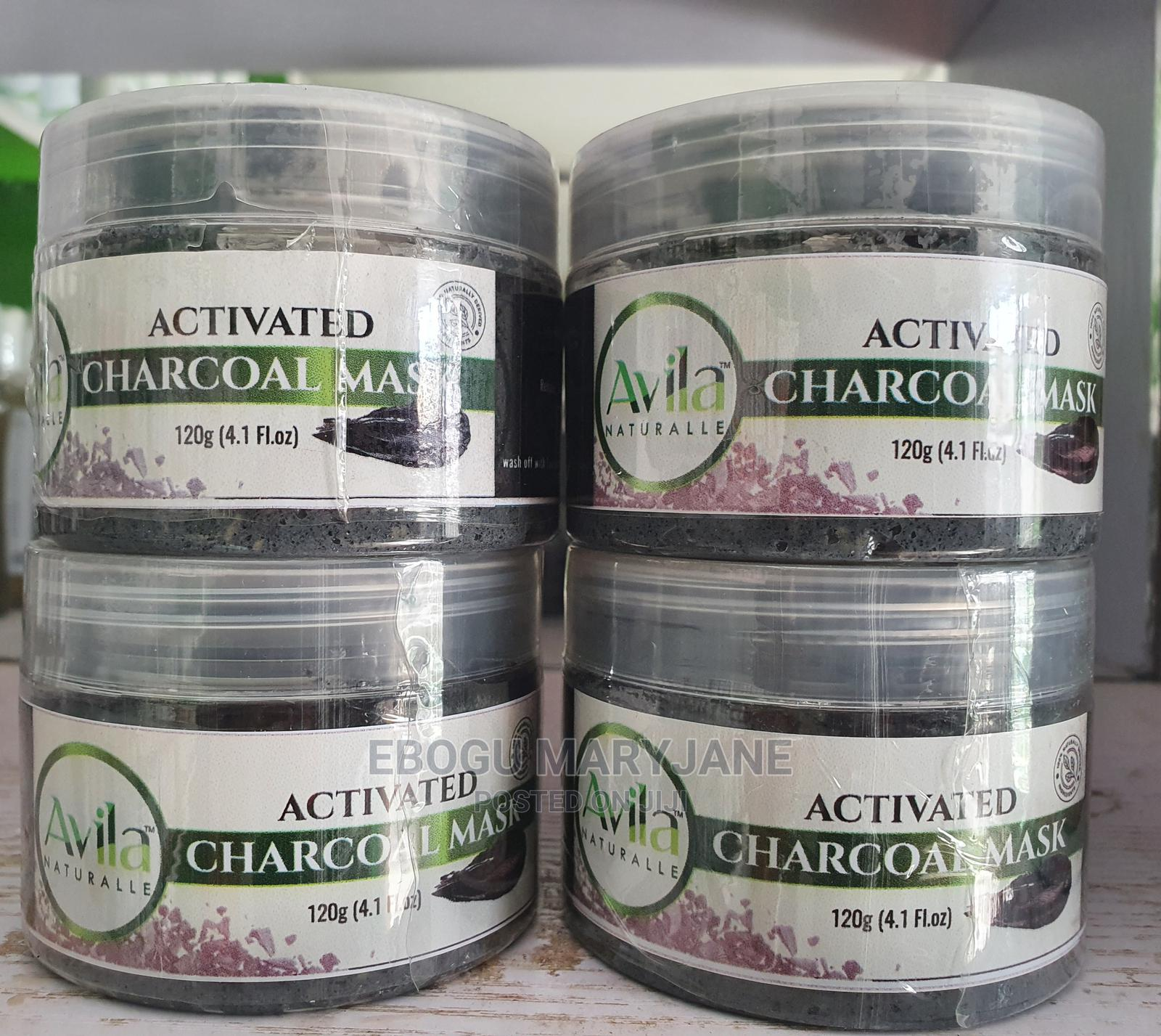 Avila Activated Charcoal Mask
