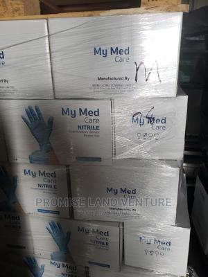 My Med Care Nitrile Powder Free Gloves. | Medical Supplies & Equipment for sale in Lagos State, Mushin