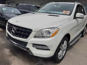 Mercedes-Benz M Class 2014 White   Cars for sale in Lagos State, Apapa