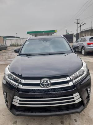Toyota Highlander 2018 Black | Cars for sale in Lagos State, Surulere