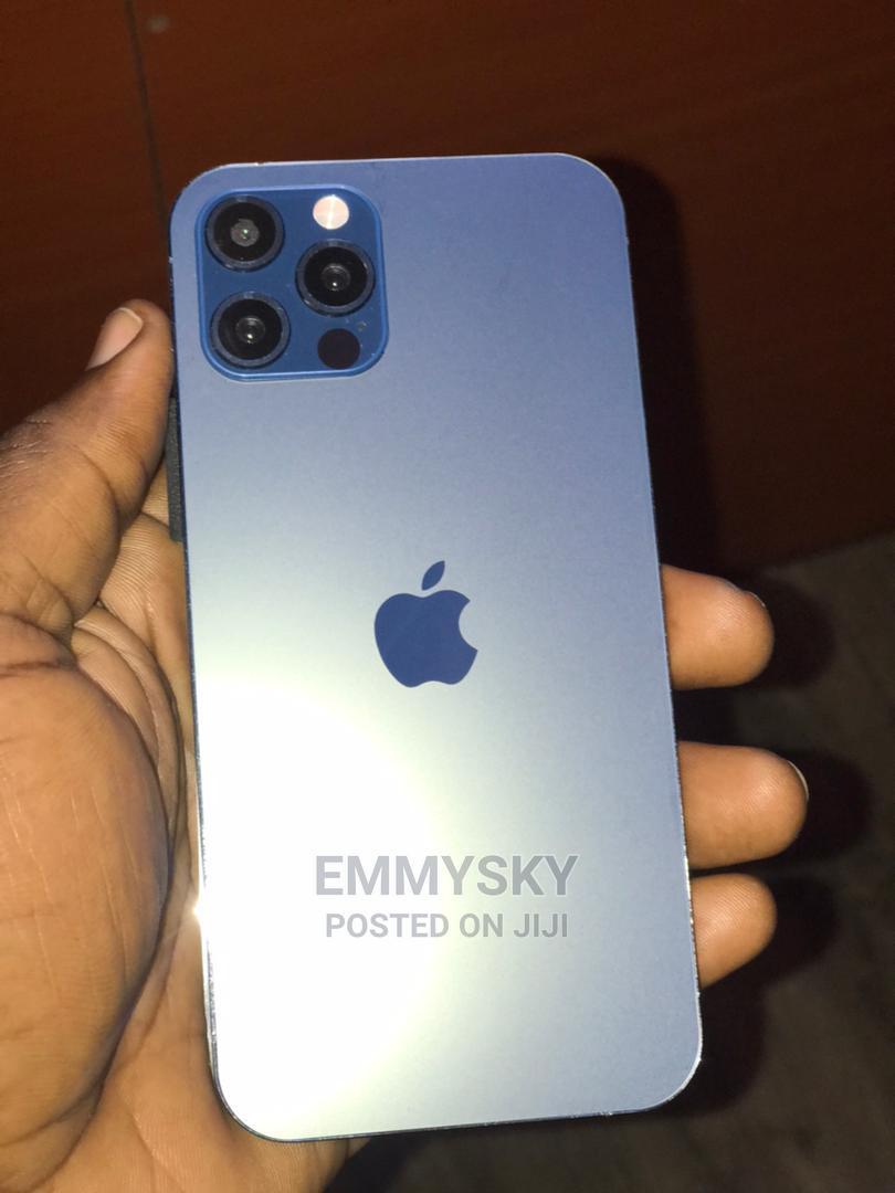 Apple iPhone 12 Pro 128GB Blue   Mobile Phones for sale in Ikeja, Lagos State, Nigeria