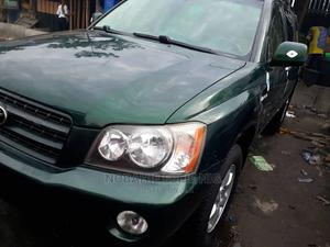 Toyota Highlander 2003 Limited V6 FWD Green   Cars for sale in Lagos State, Apapa