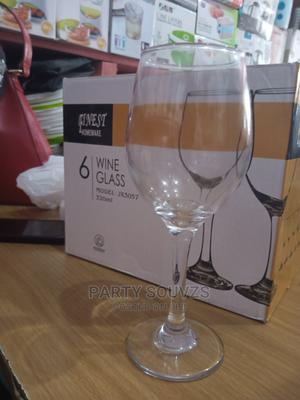 Wine Glasses 6 Pieces | Kitchen & Dining for sale in Lagos State, Surulere