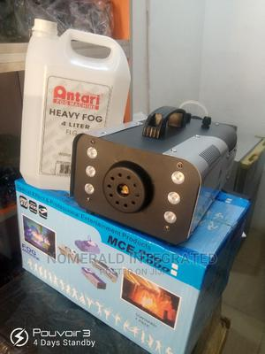 Dmx Led Smoke Machine 900w and 5l Oil | Stage Lighting & Effects for sale in Lagos State, Lekki