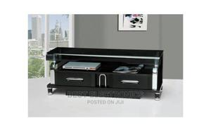 TV Stand With Drawer Tempard Glass | Furniture for sale in Abuja (FCT) State, Wuse 2