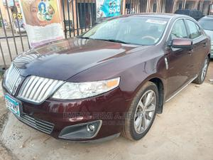 Lincoln MKS 2010 Red   Cars for sale in Lagos State, Ojo