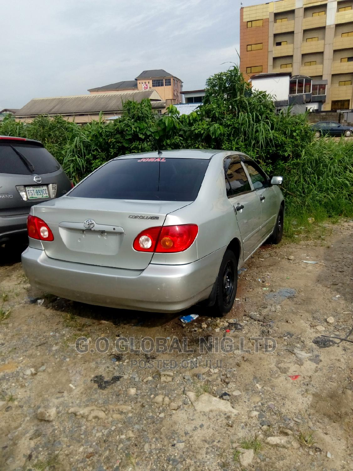 Toyota Corolla 2004 Sedan Automatic Silver | Cars for sale in Port-Harcourt, Rivers State, Nigeria