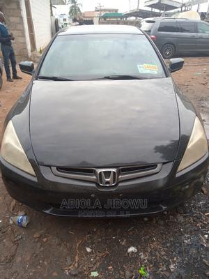 Honda Accord 2003 Automatic Black   Cars for sale in Lagos State, Egbe Idimu