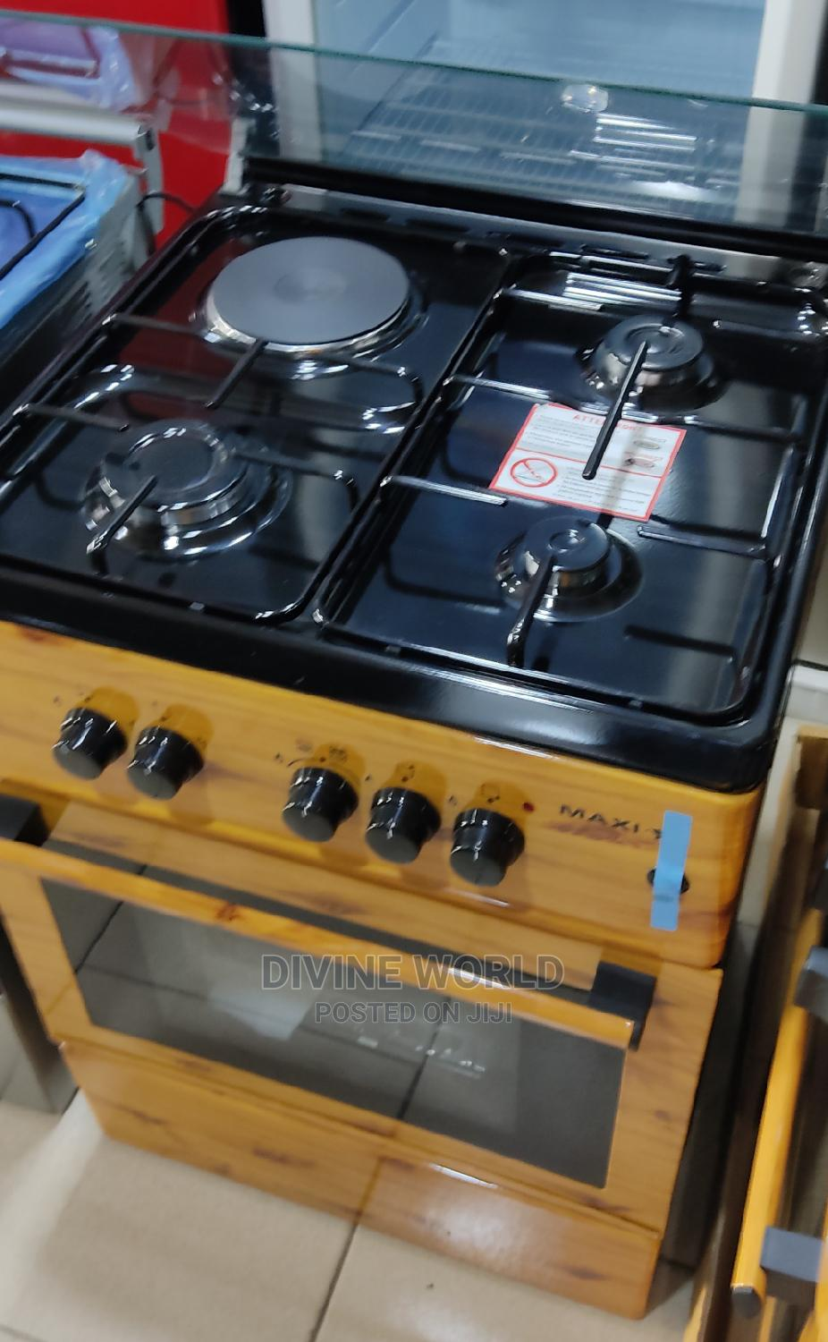 Maxi 3+1 Electric and Gas Automatic Ignition With Oven