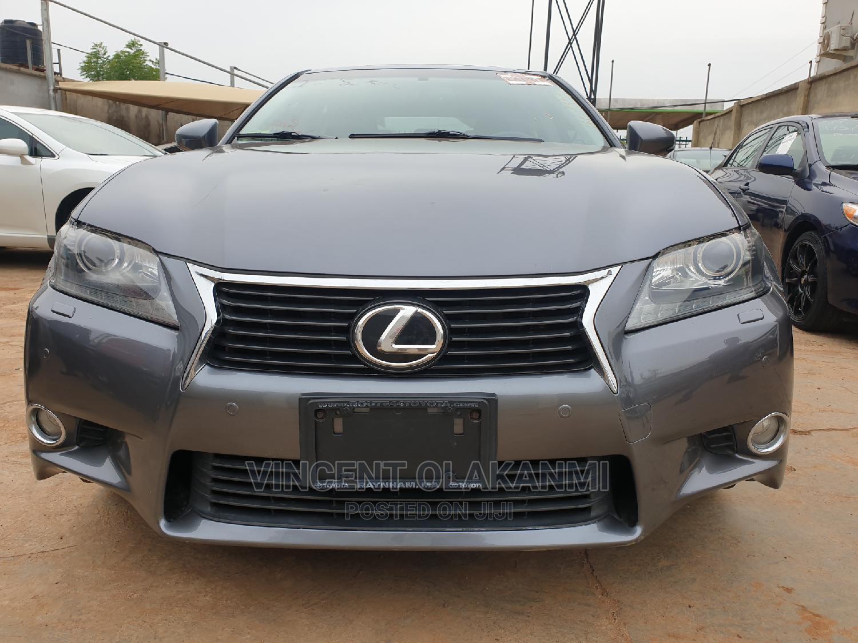 Lexus GS 2013 Gray