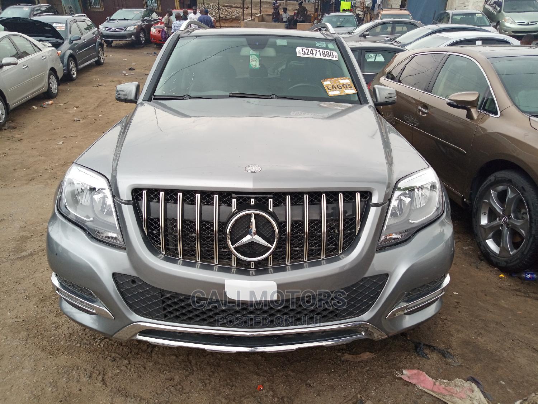 Mercedes-Benz GLK-Class 2014 350 4MATIC Gray