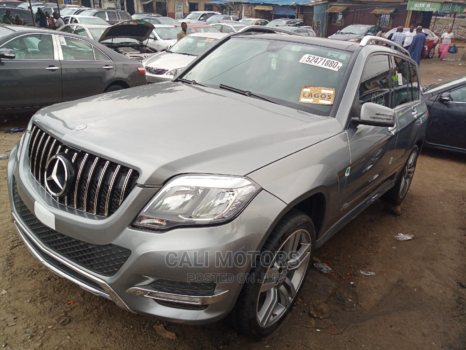 Mercedes-Benz GLK-Class 2014 350 4MATIC Gray | Cars for sale in Apapa, Lagos State, Nigeria