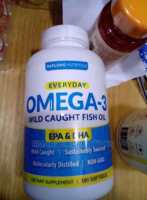 Everyday Omega -3 Wild Caught Fish Oil   Vitamins & Supplements for sale in Lagos State, Surulere