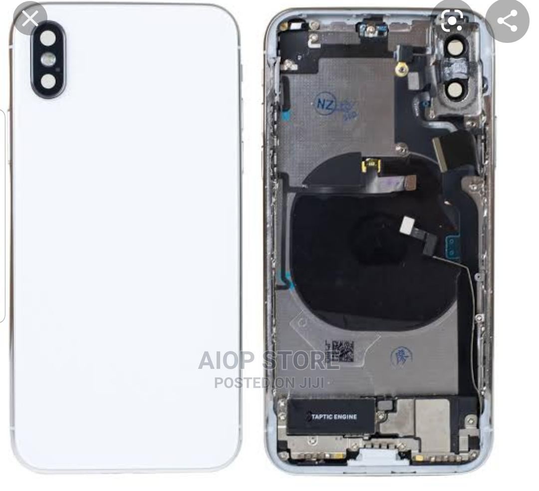 iPhone X Complete Housing With Small Parts | Accessories for Mobile Phones & Tablets for sale in Port-Harcourt, Rivers State, Nigeria