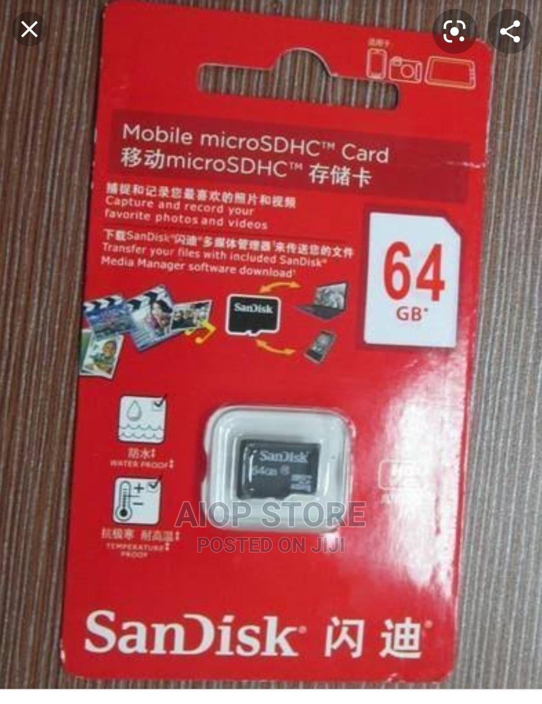 64gb Sandisk Memory Card