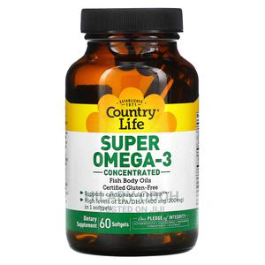 Country Life Super Omega 3 Fish Oil   Vitamins & Supplements for sale in Lagos State, Ojo