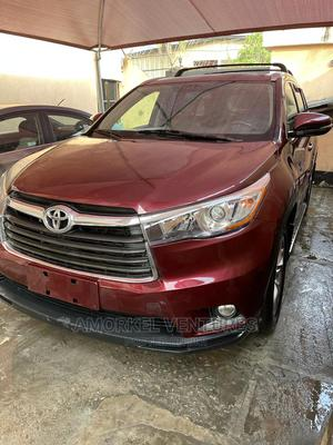 Toyota Highlander 2015 Red | Cars for sale in Lagos State, Amuwo-Odofin