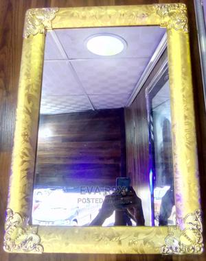 Wall Mirror With Gold Frame | Home Accessories for sale in Lagos State, Amuwo-Odofin