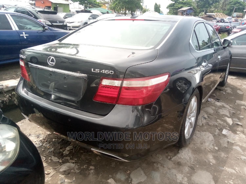 Lexus LS 2007 460 Black