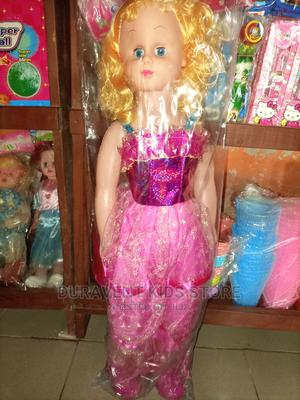 """28"""" Kids Doll With Glasses and Bag 