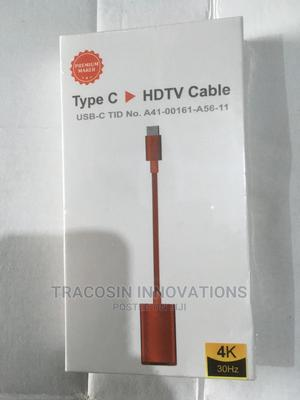 Type C to HDMI (HDTV) Cable Adapter | Accessories & Supplies for Electronics for sale in Lagos State, Yaba