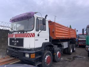 Very Clean Foreign Used Man Diseal 12 Tyre Tipper | Trucks & Trailers for sale in Lagos State, Ojo
