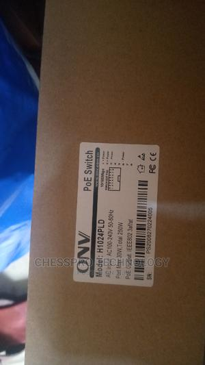 Onv 24 Port Poe Switch [H1024pl   Networking Products for sale in Lagos State, Ikeja