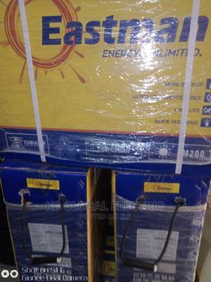 12v 220ah Eastman Tubular Batteries Available | Solar Energy for sale in Lagos State, Ojo