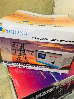 1kva 12v Yohako Inverter Intelligent With One Year Warranty   Solar Energy for sale in Lagos State, Epe