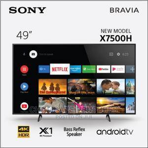 KD-49X7500H - Sony 49 Inch UHD Android Smart LED TV (Black)   TV & DVD Equipment for sale in Lagos State, Ojo