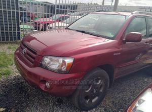 Toyota Highlander 2006 Limited V6 Red   Cars for sale in Lagos State, Ojodu
