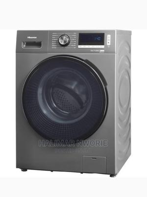 Hisense 10kg Wash 7kg Dry Front Load Inverter Washing | Home Appliances for sale in Abuja (FCT) State, Asokoro