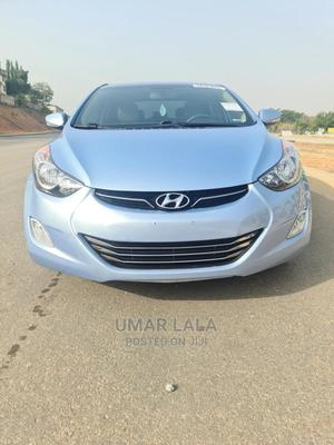 Hyundai Elantra 2013 Blue   Cars for sale in Abuja (FCT) State, Garki 1