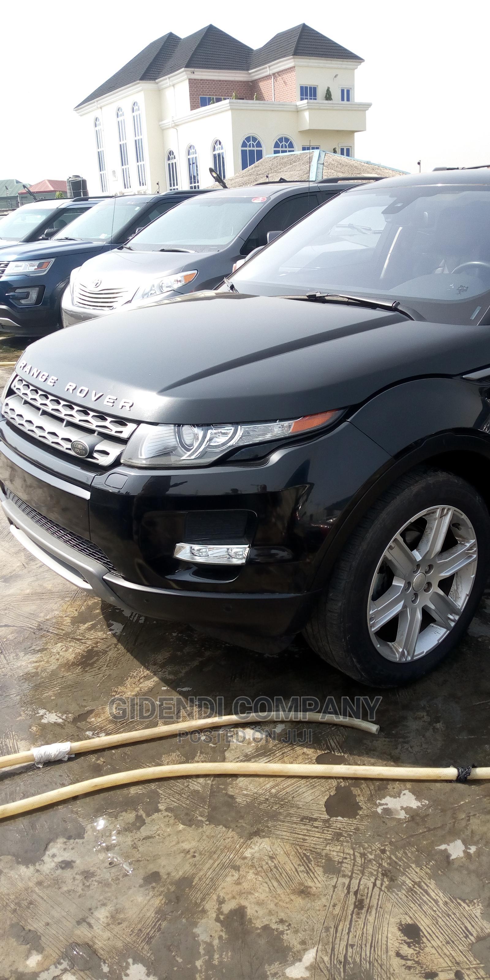 Land Rover Range Rover Evoque 2015 Black   Cars for sale in Ikeja, Lagos State, Nigeria