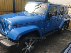 Jeep Wrangler 2013 Sahara Blue | Cars for sale in Lagos State, Ikeja
