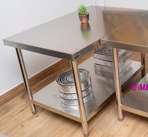 Stainless Steel Working Table 3 Feet   Restaurant & Catering Equipment for sale in Lagos State, Ojo