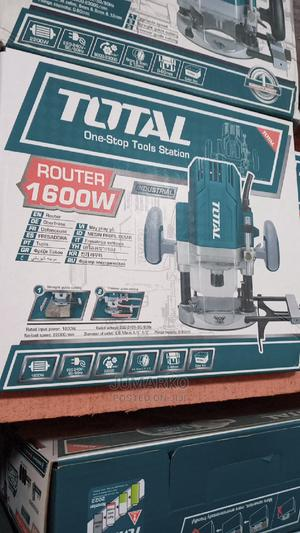 Total Router 1600wats | Electrical Hand Tools for sale in Lagos State, Lagos Island (Eko)