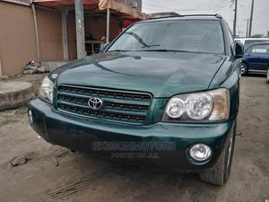 Toyota Highlander 2003 Limited V6 FWD Green | Cars for sale in Lagos State, Amuwo-Odofin