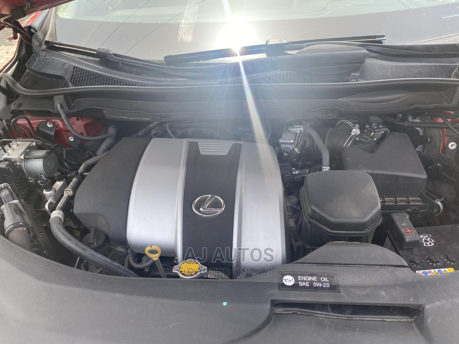 Lexus RX 2017 350 AWD Red   Cars for sale in Lekki, Lagos State, Nigeria
