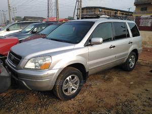 Honda Pilot 2003 EX 4x4 (3.5L 6cyl 5A) Silver   Cars for sale in Lagos State, Ikorodu