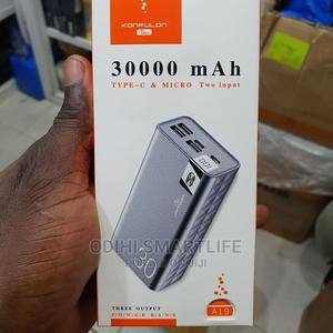 Konfulon 30,000mah Powerful Power Bank (Model A19) | Accessories for Mobile Phones & Tablets for sale in Lagos State, Ikeja